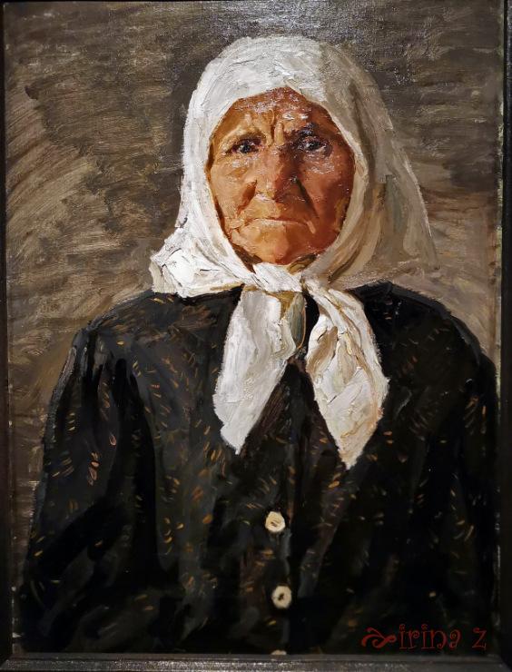 Аркадий Пластов. Портрет Матрены