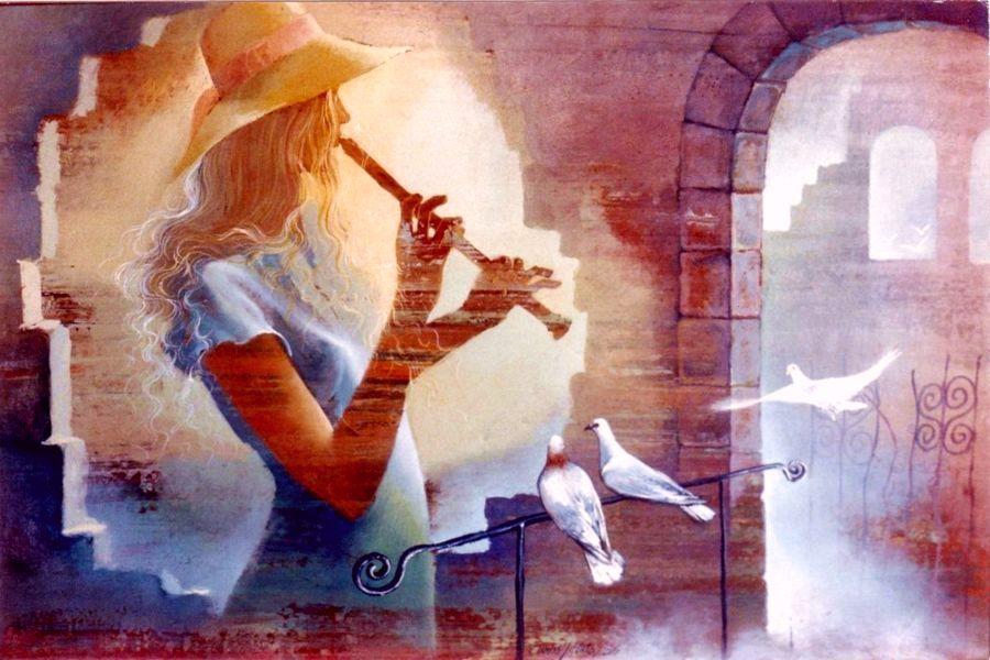 Девушка-ветер
